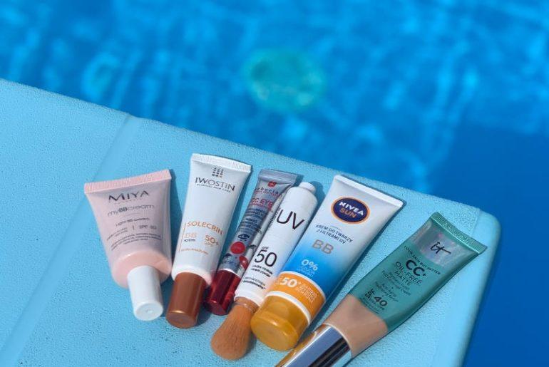 Krem BB, CC, a także kremy koloryzujące, pudry mineralne mogąchronić skórę przed promieniowaniem UV. Które z nich są godne uwagi? Sprawdzam nieoczywiste produkty z filtrem SPF