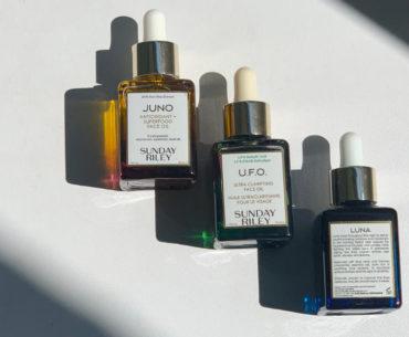 Pielęgnacja, która zmienia skórę. Olejki Juno, U.F.O. i Luna Sunday Riley, dostępne w perfumeriach Sephora