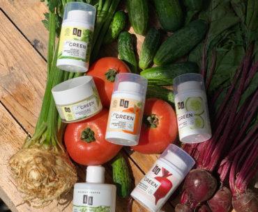 Kosmetyki AA Go Green opierają się o moc 4 polskich super warzyw