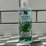 Płyn Micelarny Łagodząco-Nawilżający Aloes AA. Zużywam już drugie opakowanie. Uwielbiam!